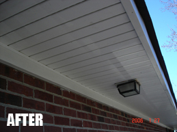 After Soffit and Fascia in Jacksonville FL